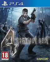 Resident Evil 4 (HD Remastered) PS4 BRAND NEW SEALED IN BOX UK SELLER