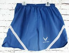 US Air Force Shorts Mens Size Medium Blue Physical Training Drawstring Trunks