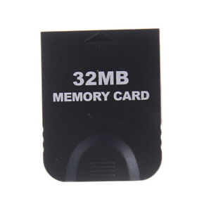 32MB Memory Card Block For Nintendo Wii Gamecube GC Game System Console A*wk