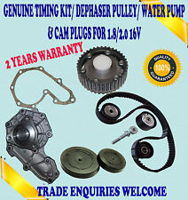 FITS CLIO II SPORT 172 & 182 2.0 TIMING BELT KIT DEPHASER PULLEY & WATER PUMP