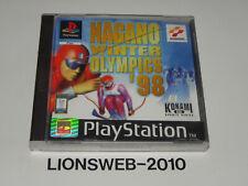 Sony Playstation 1 PS1 Spiel - Nagano Winter Olympics 98       #113