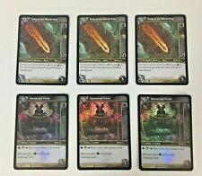 Lot of 6 - Twig of the World Tree - Stormrage Cover - World of Warcraft TCG