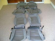 HYUNDAI SANTA FE SEAT COVERS OEM FACTORY ORIGINAL GRAY CLOTH TAKE OFFS 2011-14