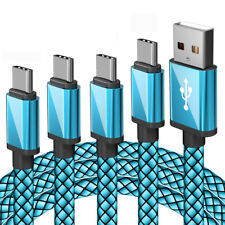 4Pack  USB Type C Charging Data Sync Charger Cable for SAMSUNG Note 9/S8 S9 Lot