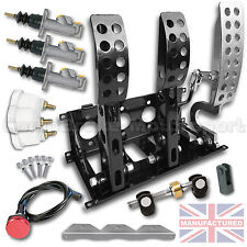 UNIVERSAL PEDAL BOX FLOOR MOUNTED HYDRAULIC PRO RACE PEDAL BOX 5:1 COMPLETE KIT