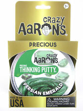 Persian Emerald Precious Gems Crazy Aaron's Thinking Putty tin New 1.6 Oz