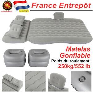 Lit Gonflable Voiture Matelas Extérieur PVC Flocage SUV Lit Pneumatique Plat FR
