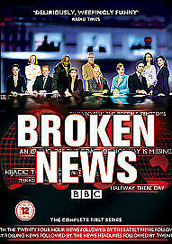 Broken News: Series 1 (DVD 2007) Brand New Sealed