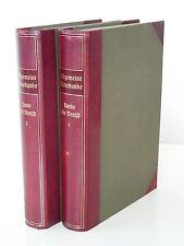 Ranke - Der Mensch - 2. Auflage (1894) in 2 HLd-Bänden -