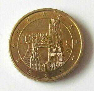 PIECE 10 cent euro AUTRICHE AUSTRIA, 2017
