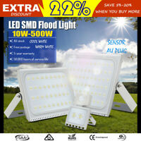 10W 20W 30W 50W 100W 150W 200W 300W 500W LED Flood Light PIR Sensor/AU Plug 240V