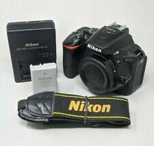 Nikon D D5500 24.2MP Digital SLR Camera - Black (Body Only) - 7K Clicks