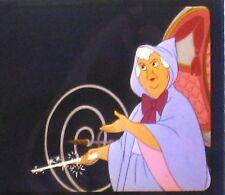 Le Disney Pin✿Cinderella Piece of Movie History Film Cel Rare Fairy Godmother Le
