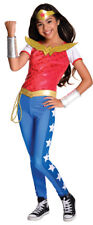 Girls Deluxe Wonder Woman Halloween Costume