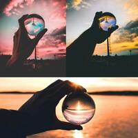 Crystal Ball Photography Lens Ball Photo Prop Background Lens ball Home Decor