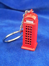 PORTE-CLES / Key ring - CABINE TELEPHONIQUE / Phone cabin - TOP !