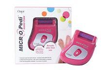 Micro Pedi MINI Pedicure portatile rosa Dispositivo di rimozione della pelle dura NUOVO