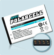 polarcell Battery for Motorola DEFY+ Plus MB526 Defy Mini XT320 HF5X Battery