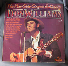 """Vinilo LP 12"""" 33 rpm THE POZO SECO SINGERS with DON WILLIAMS - Long Playing Reco"""