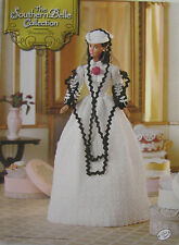 Annie's Attic Southern Belle Fashion Bed Doll Crochet Pattern Honeymoon Trip