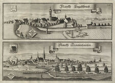 Ergoldsbach - Frontenhausen: Kupferstich(e) von Wening, gedruckt ca. 1750