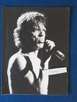"Original Press Photo - 11""x8"" - Mick Jagger - Rolling Stones - 1980's - B"
