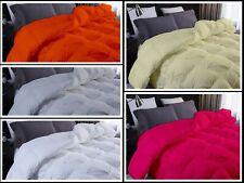 1 Piece Goose Down  Pinch pleated 100% Cotton Alternative Comforter 500 GSM