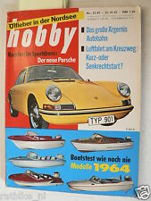 HOBBY 1963-22,VW KEVER,BOOT TEST MONARK,JOHNSON,BABY GP CAR,PORSCHE 901 TEST,AIR