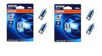 4 Stück Osram W5W HALOGEN Cool Blue INTENSE Standlicht 2er Set 4200K