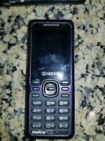 BAD ESN - Lot of 2: Kyocera Domino S1310 - Black (Locked ) Cellular Phone