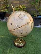 More details for vintage thomas blakemore globe, brass mount, wooden base