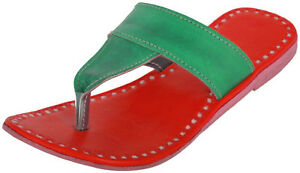 Multicolor leather slippers womens sandals casual flip flops fashion slippers