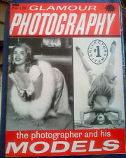 GLAMOUR PHOTOGRAPHY COLLECTORS ITEM #1 FN .Jayne Mansfield,, June Wilkinson 1959