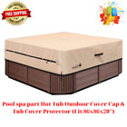 Pool spa part Hot Tub Outdoor Cover Cap & Tub Cover Protector (Fit 86x86x20'')