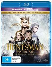 The Huntsman - Winter's War (Blu-ray, 2016) New & Sealed
