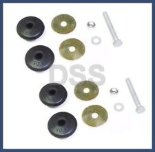 Genuine Mercedes w123 Engine Shock Mounting KIT (x2) bushings bolt damper strut
