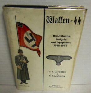 BOOK ALMARK Waffen-SS by Fosten & Marrion op 1972 1st HB with dj Ed Scarce