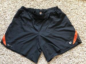 Pearl Izumi Elite Mens Lines Baggy Running XL Shorts EUC