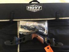 "Hoyt Satori Recurve Bow 17"" Black Riser Left Hand 2017 Limbs Available"