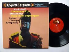 PROKOFIEFF Lieutenant KIje LP STRAVINSKY Song of the Nightingale REISSUE   mm13