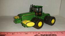 1/64 ERTL custom John deere 8770 4wd tractor duals saddle tanks & rock box!