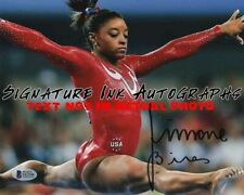 Simone Biles SIGNED 8x10 AUTOGRAPHED Olympic Gymnast Photo reprint
