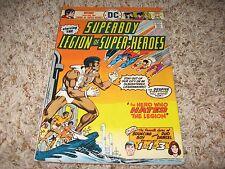 Superboy #216 (DC, 1976) – 1st App. of Tyroc – Legion of Super-Heroes – FN-
