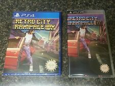 Retro City Rampage DX PS4. Sealed W/PSP Display Case (No UMD). Only 3000 Made!
