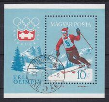 "Ungarn 1964 - Mi. Block 40A  ""Olympia Innsbruck"" gestempelt"