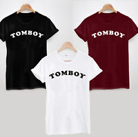TOMBOY T-Shirt - Sarcastic Funny Tee Top Ladies Mens Cool