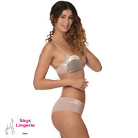 Ensemble de lingerie DISCRETE soutien-gorge et boxer Skys Lingerie 90B/M