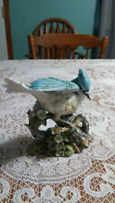 New ListingBeautiful Vintage Home Interiors Masterpiece Porcelain By Homco Blue Jay 1985