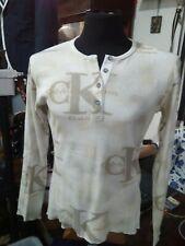 Tshirt uomo Calvin Klein L  manica lunga