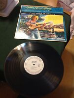 Vintage Folk Songs of America Record Golden Record Library